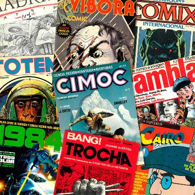 MAGAZINES OF THE COMIC BOOM (FOR ADULTS)