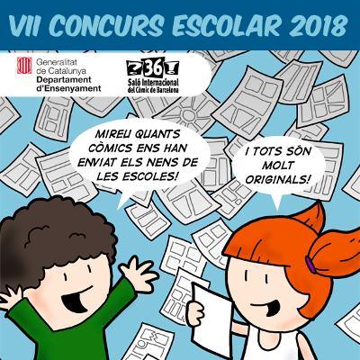 VII CONCURSO ESCOLAR SALÓN DEL CÓMIC