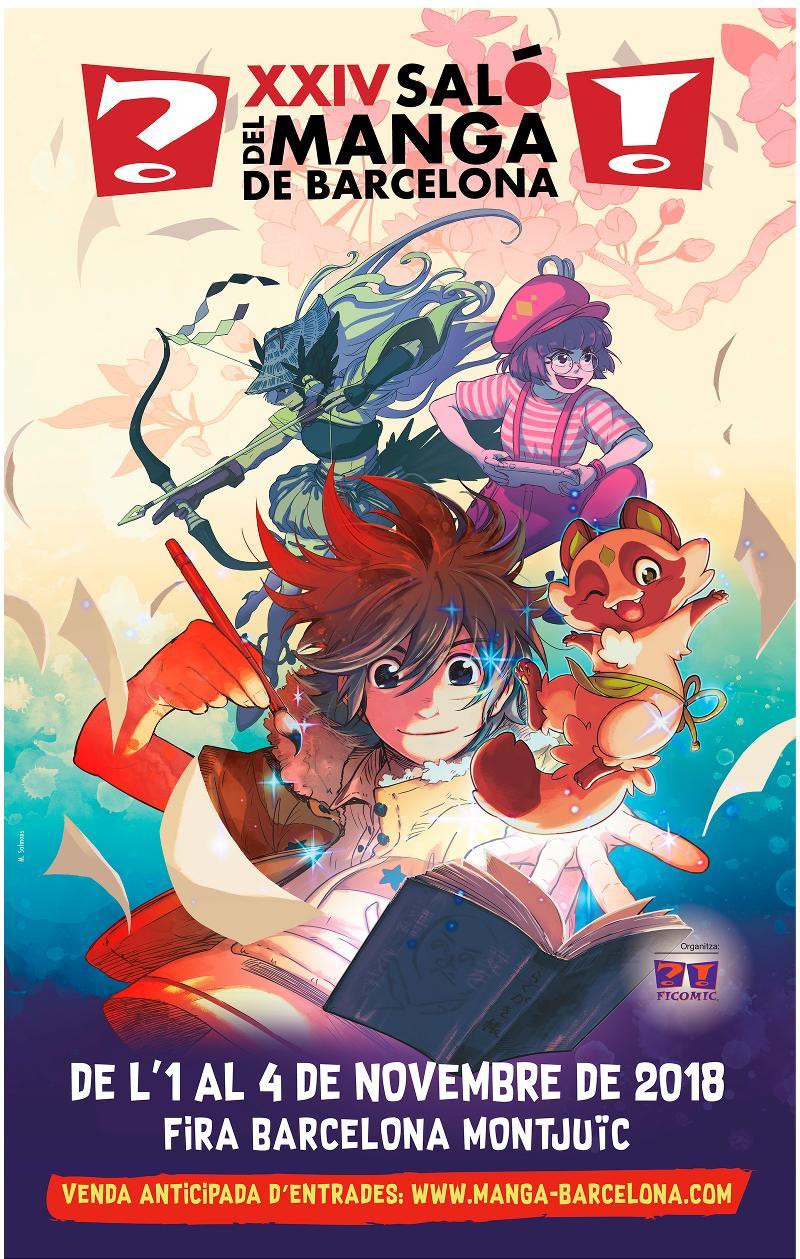 Cartell XXIV Saló del Manga de Barcelona