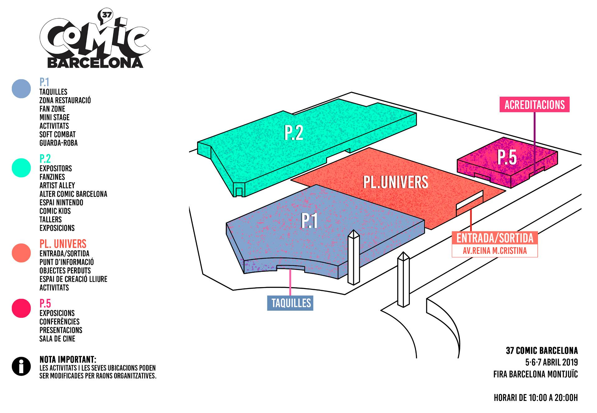 Pavellons 37 Comic Barcelona