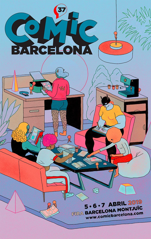 37 Cómic Barcelona @ Fira de Barcelona Montjuïc