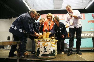Inauguración: Ceremonia del Sake