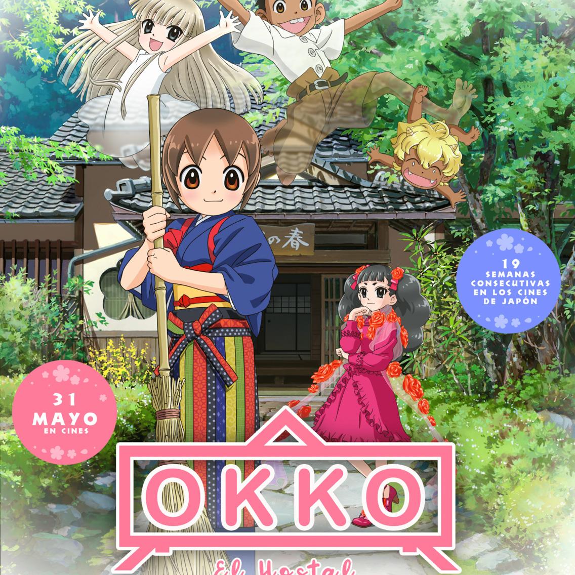 Okko el hostal y sus fantasmas