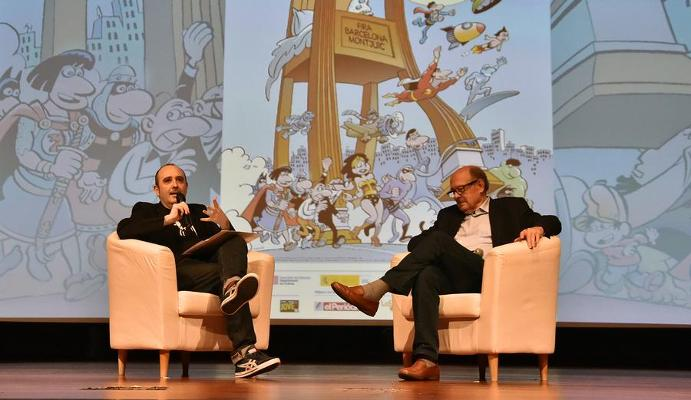 FRANCISCO IBÁÑEZ REPASSA LA SEVA LLARGA TRAJECTÒRIA AMB CARLOS ARECES