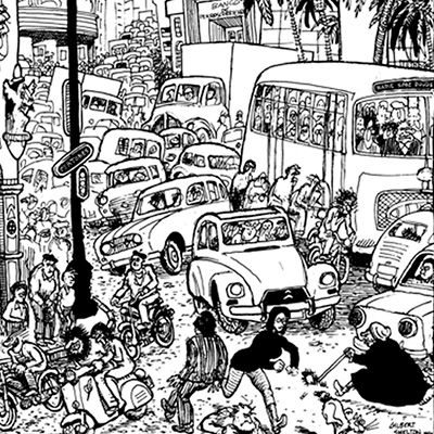 La Barcelona de les multituds